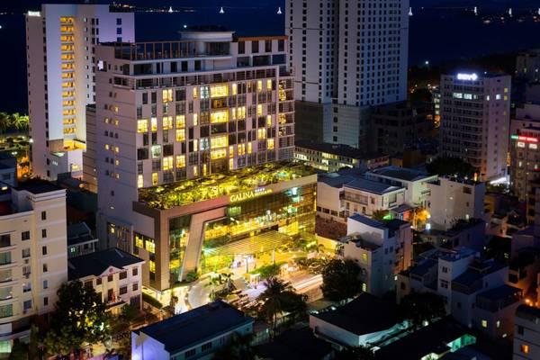 Toàn cảnh Khách sạn Galina Nha Trang.