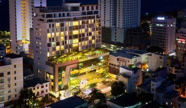 Toàn cảnh Khách sạn Galina Nha Trang. Ảnh: iVIVU.com