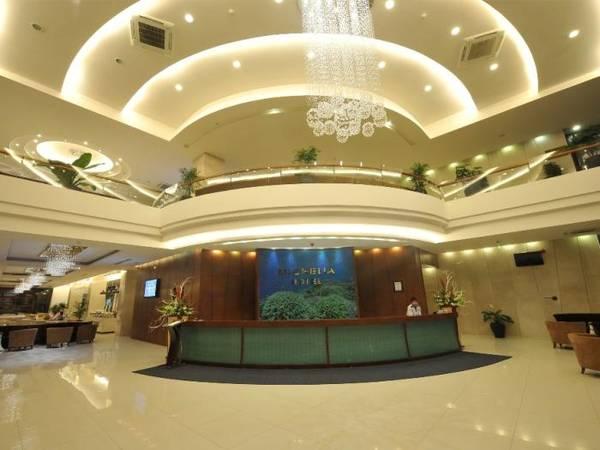 Khu vực sảnh của khách sạn Michelia Nha Trang.