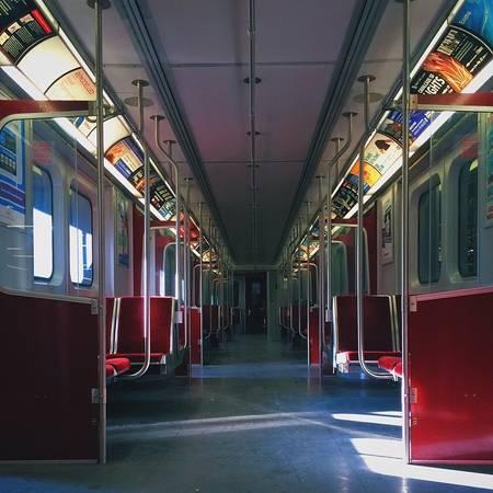Ga tàu điện ngầm Toronto, Canada.