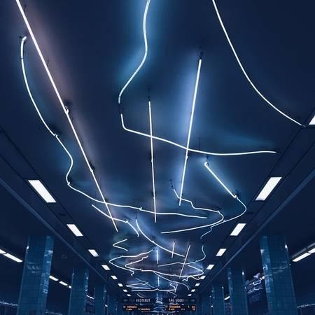 Ga tàu điện ngầm Stockholm, Thụy Điển.