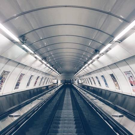 Ga tàu điện ngầm Prague, Cộng hòa Séc.