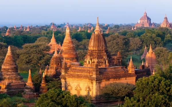 10. Bagan, Myanmar