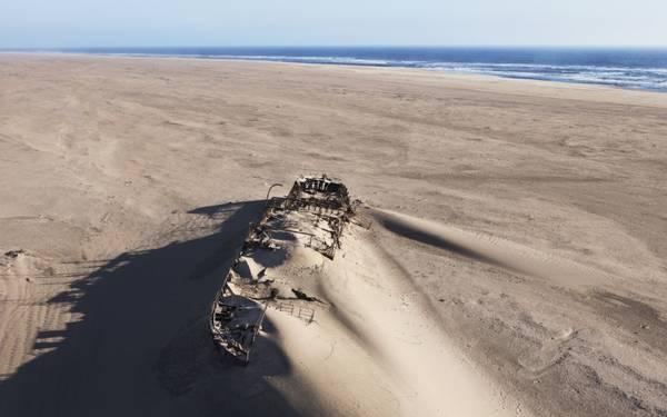 15. Skeleton Coast, Namibia