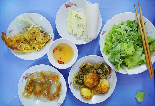 Những món ăn thú vị đậm chất miền Trung.