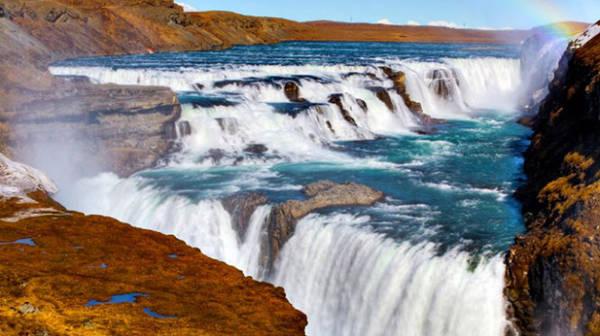 Thác Gullfoss, Iceland