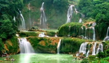 Thác Bản Giốc, biên giới Việt - Trung