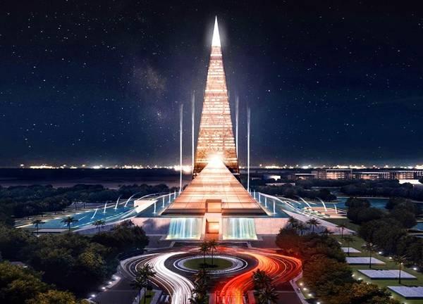 Theo Huffington Post, Bộ trưởng Nhà ở Ai Cập, Moustafa Madbouli vừa công bố kế hoạch xây dựng dự án tòa nhà chọc trời hình kim tự tháp khổng lồ tại thành phố Sheikh Zayed diện tích 8,5 triệu m2.