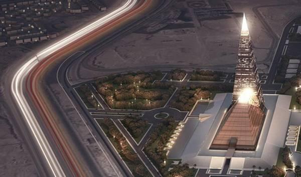 Zayed Crystal Spark sẽ là tòa nhà cao nhất Ai Cập với chiều cao 198 m. Kim tự tháp Giza chỉ cao 147 m.
