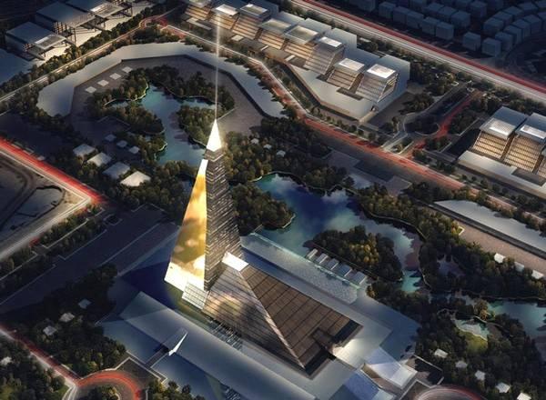 Theo tờ Cairo Post, Zayed Crystal Spark là tổ hợp đa chức năng tọa lạc tại quận Sheikh Zayed, ngoại ô Cairo.