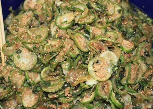 Cà đắng được chế biến thành nhiều món ăn khác nhau trong bữa cơm của người dân tộc Ê Đê