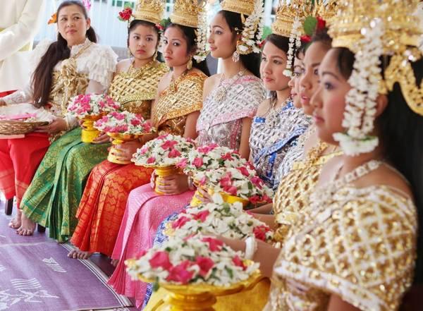 Chol Chnam Thmay là lễ hội mừng năm mới của người Khmer và cũng là ngày tết của Campuchia, thường được diễn ra vào giữa tháng 4. Ảnh: coklateyes.my