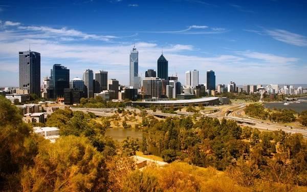 Perth: Giá phòng trung bình là 106 Bảng Anh (khoảng 3,47 triệu đồng), giảm 17%.