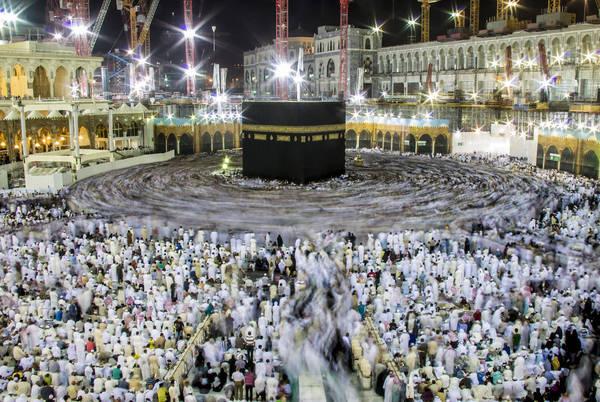 Mecca, Ả Rập Xê Út. lúc 02:00 AM. Tác phẩm 'Kaaba', chụp bởi nhiếp ảnh gia Ala Hamdan.