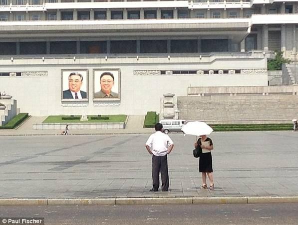 Ngành du lịch không hút khách ở Triều Tiên, tuy nhiên cũng khá quy củ.
