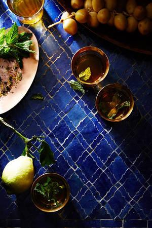 Trà bạc hà chính là thức uống quốc hồn quốc túy của Morocco.