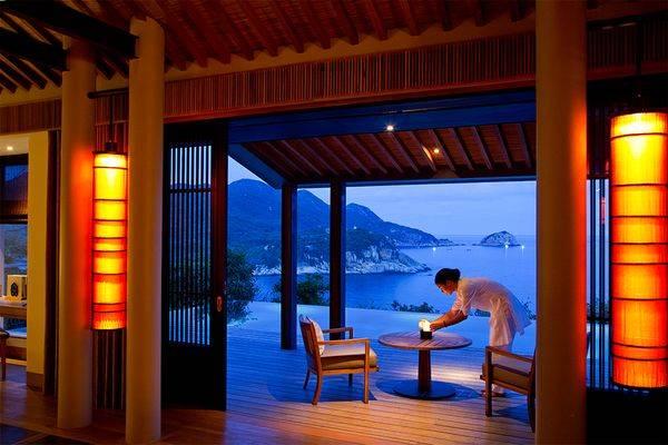 Resort Amanoi sang trọng và tinh tế tọa lạc tại bãi biển hoang sơ phía Nam Vĩnh Hy, Ninh Chữ, Ninh Thuận.