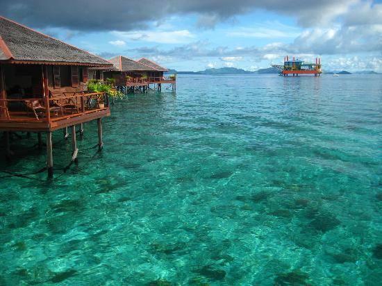 Đảo Sipadan từ lâu đã đươc biết tới như là thiên đường cho những người yêu thích môn lặn biển. Ảnh: Lipstiq.com