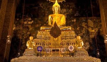 Tượng Phật được chạm khắc tinh xảo.  Ảnh: Bangkok.com