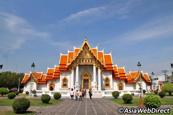 Chùa Wat Benchamabophit. Ảnh: Bangkok.com