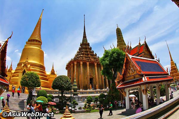 Chùa là nơi tổ chức những buổi lễ quan trọng của quốc gia. Ảnh: Bangkok.com