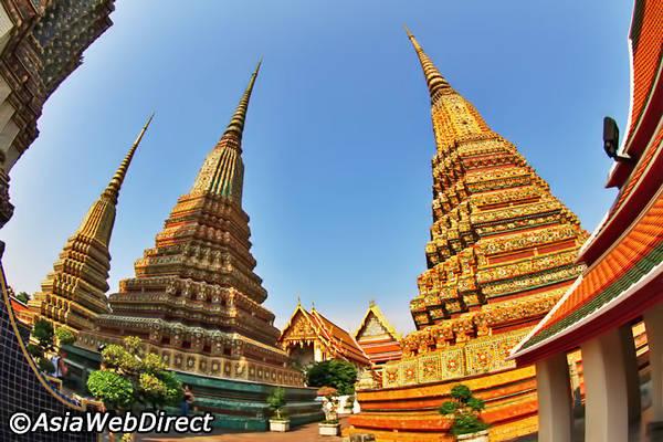 Chùa Wat Pho là một điểm lý tưởng để du khách có thể tận hưởng trải nghiệm massage Thái truyền thống.Ảnh: Bangkok.com