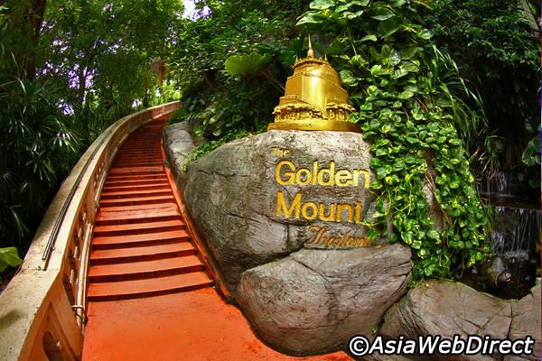 Đường lên chùa. Ảnh: Bangkok.com