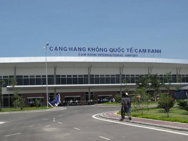 Cảng Hàng không quốc tế Cam Ranh. Ảnh: ST