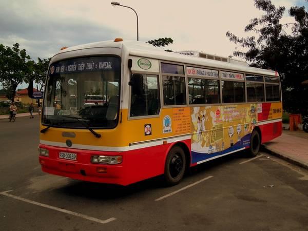 Xe Bus nội thành. Ảnh: ST