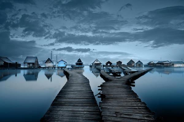 Vẻ đẹp quyến rũ khó cưỡng của hồ Bokodi.
