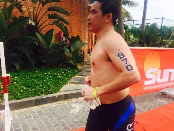 CEO của TMG ông Trần Trọng Kiên cũng tham gia cuộc thi với tư cách vận động viên cá nhân. Ảnh: TMG.