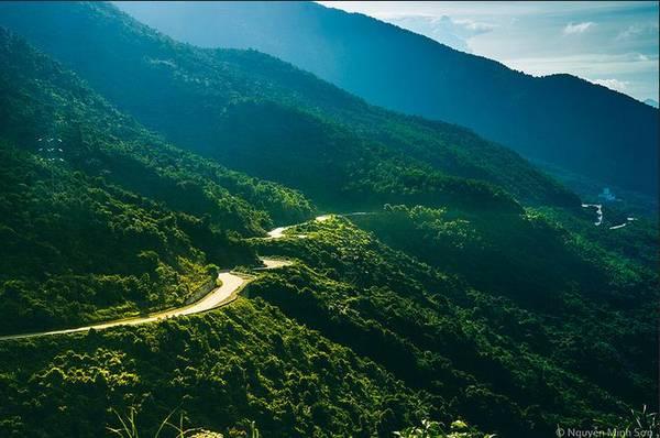 Đèo Hải Vân. Ảnh: Nguyễn Minh Sơn/ flickr.com
