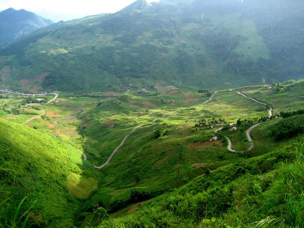 Đèo Bắc Sum - Hà Giang. Ảnh: Vnexpress