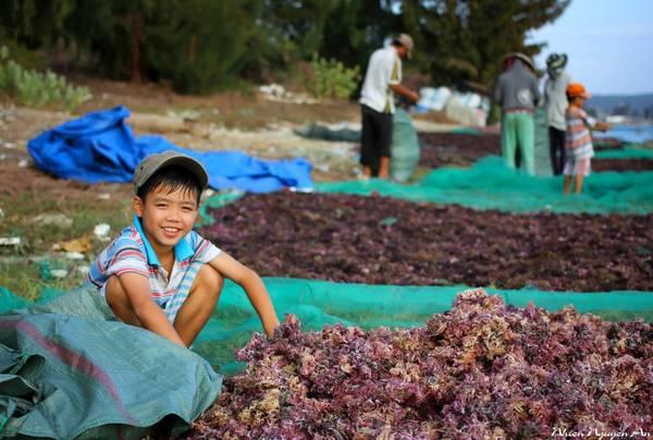 Người dân trên đảo Bình Hưng rất tốt bụng và thân thiện.