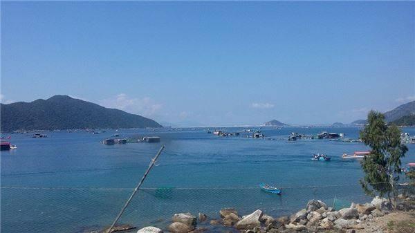 Từ đỉnh của đèo Cả nhìn về phía Đông, vịnh Vũng Rô sẽ làm say lòng du khách với một vùng non xanh nước biếc hòa quyện vào nhau nên thơ và hùng vĩ. Ảnh: Pan Xê