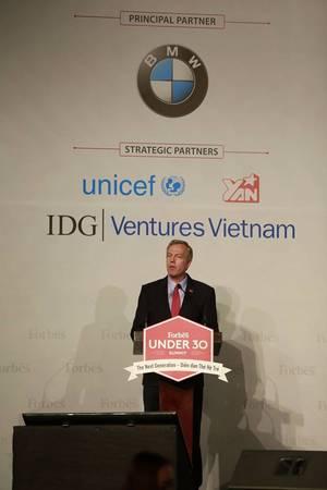 Phát biểu của Đại sứ Mỹ tại Việt Nam, Ted Osius.