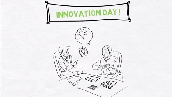 """CEO Trần Trọng Kiên cũng đề xuất rằng """"Cứ đến 2 đến 3 tháng mỗi công ty hay mỗi quốc gia nên có một ngày mà tôi tạm gọi là """"Ngày của sáng kiến"""" để cùng nhau đưa ra các ý tưởng mới"""""""
