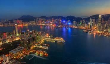 Một góc Hong Kong hoa lệ nhìn từ Sky 100. Ảnh: meocre.smugmug.com