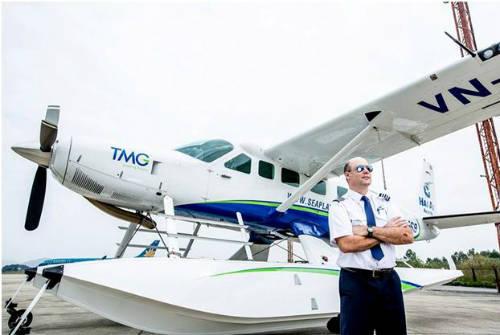 Thủy phi cơ duy nhất tại Việt Nam.