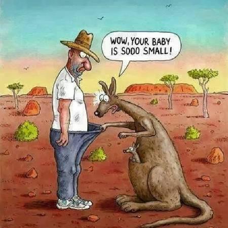 <strong>5. Khiếu hài hước: </strong>Những lời nói đùa của người Australia khá cực đoan, thường mang tính mỉa mai và họ không ngần ngại đả kích chính phủ hay bản thân. Sự hài hước của người Australia thường khiến những người lần đầu tiếp xúc thấy kỳ quặc, phật ý hoặc khó hiểu.