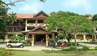 Victoria Angkor Resort & Spa nằm ngay trung tâm thành phố Siem Riep. Ảnh: victoriahotels.asia