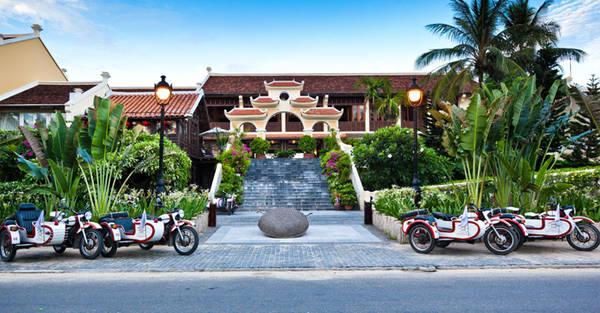 Không gian hoài cổ của Victoria Hội An Beach Resort & Spa. Ảnh: victoriahotels.asia