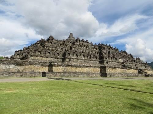 Borobudur được UNESCO công nhận là Di sản thế giới vào năm 1991.