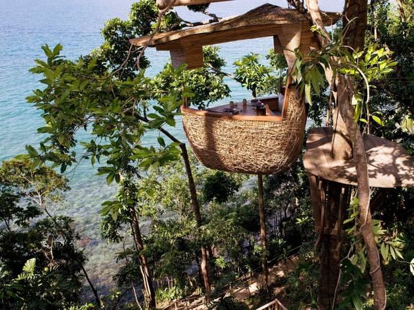 <strong>Khách sạn yên tĩnh nhất: </strong>Sovena Kiri, Koh Kut, Thái Lan. Giá phòng từ 905 USD/mỗi đêm. Ảnh: Jetsetter