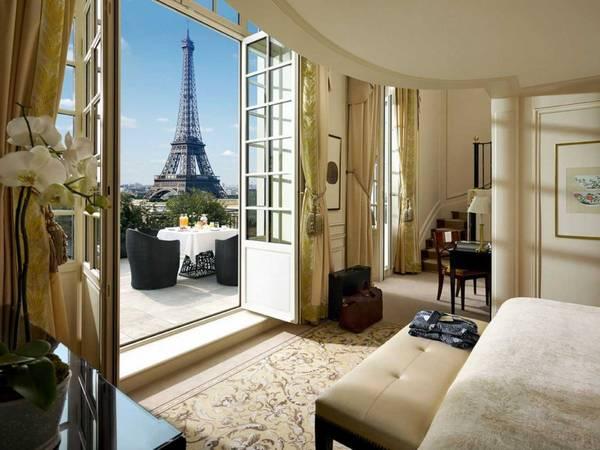<strong>Khách sạn có phòng ngủ lớn nhất: </strong>Shangri-La Hotel Paris, Paris, Pháp. Giá phòng từ 761 USD/mỗi đêm. Ảnh: Jetsetter