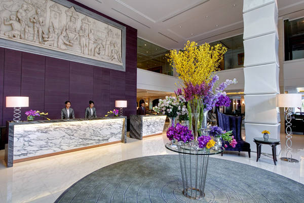 Khu vực sảnh của khách sạn. Ảnh: sukosolhotels.com