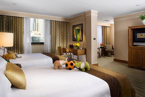 Phòng dành cho gia đình của The Sukosol. Ảnh: sukosolhotels.com