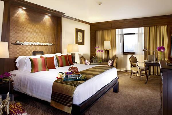 Phòng Club Siam Deluxe của khách sạn. Ảnh: sukosolhotels.com