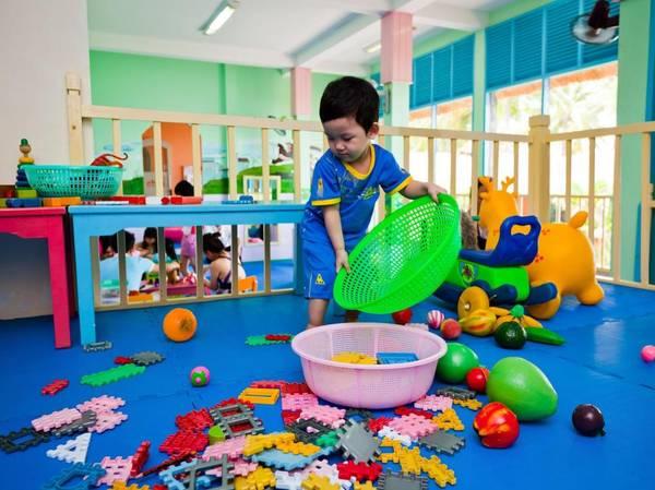 Khu vui chơi dành cho trẻ em tại Victoria Phan Thiết Beach Resort & Spa.