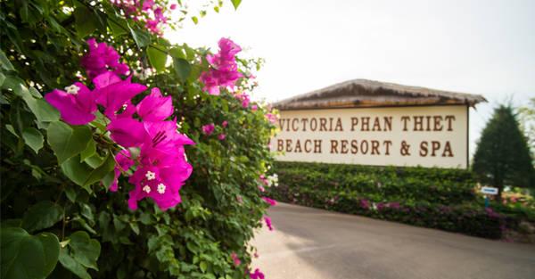 """Nằm """"ẩn mình"""" giữa thủ đô resort, Victoria Phan Thiết Beach Resort & Spa sẽ là điểm dừng chân lý tưởng cho gia đình bạn trong kì nghỉ sắp tới. Ảnh: victoriahotels"""